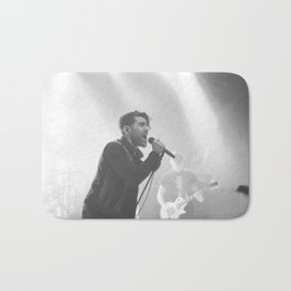 Live in Black and White Bath Mat
