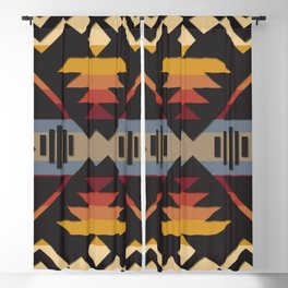 American Native Pattern No. 109 Blackout Curtain