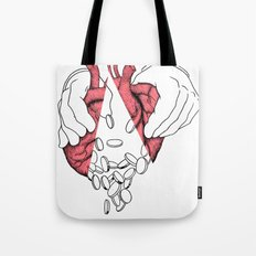 money or love Tote Bag