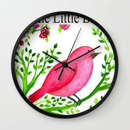 The Little bird Wall Clock