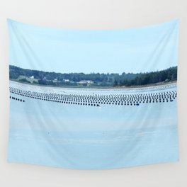 Growing Food with Tides Wall Tapestry
