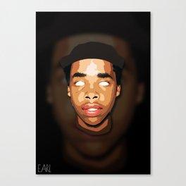 Earl Sweatshirt Vertical Print Canvas Print