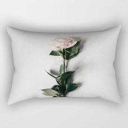 Minimalist Rose Rectangular Pillow