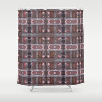 doors Shower Curtains featuring doors by Mackenzie Leigh