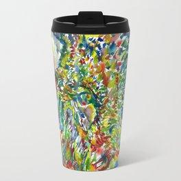WATERCOLOR BISON .1 Travel Mug