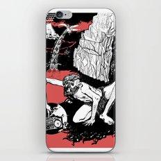 caveman red iPhone & iPod Skin