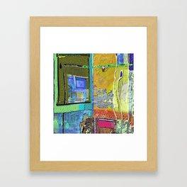A Morning Scene Abstract No. 3 Framed Art Print