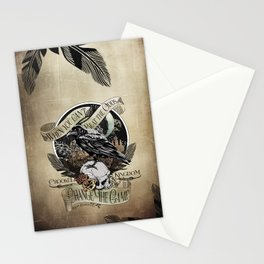 Crooked Kingdom - Change The Game Stationery Cards