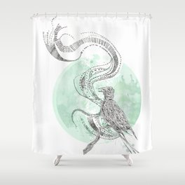 Bird Cry Shower Curtain