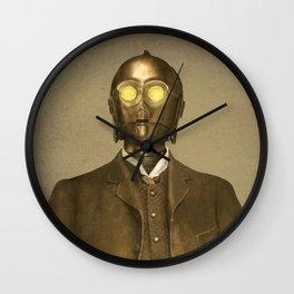 Baron Von Three PO  Wall Clock