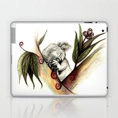 Koala sleeping Laptop & iPad Skin