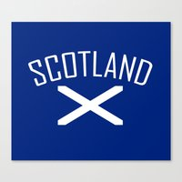 scotland Canvas Prints featuring Scotland by Earl of Grey