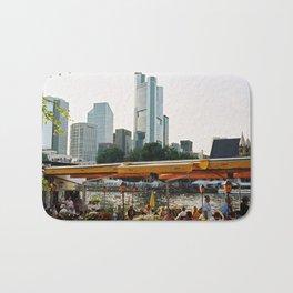 Frankfurt, Germany - skyline Bath Mat