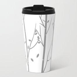 White Birch Contemporary Travel Mug