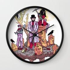 Gravediggers Wall Clock