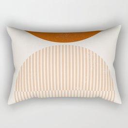 Mid century modern, mid-century wall art, print, geometric wall art, abstract wall art, interior, ma Rectangular Pillow