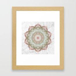 Dreamer Mandala Framed Art Print
