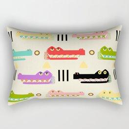 Contemporary Glyphs Rectangular Pillow