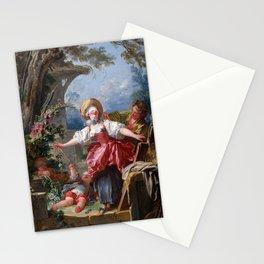 Blind Man's Bluff,  Jean-Honoré Fragonard, 1750 Stationery Cards