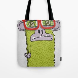 005_monkey glasses Tote Bag