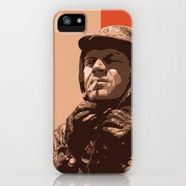 S McQueen iPhone Case
