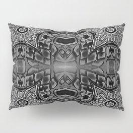 Black Gothic Stars Pillow Sham