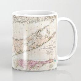 Long and Staten Island Map Coffee Mug