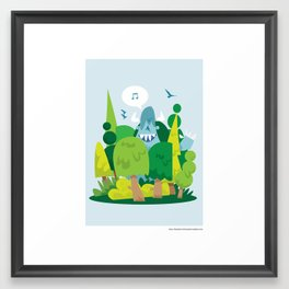 Spring has sprung.. Framed Art Print