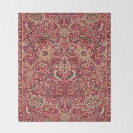 William Morris Bullerswood Pattern Throw Blanket