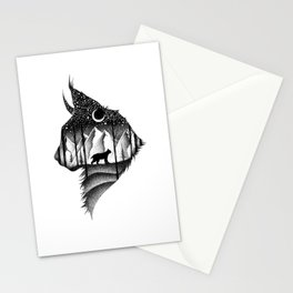THE LYNX & THE MOON Stationery Cards