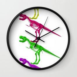 T-Rex Bones Wall Clock
