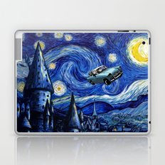 Harry And Ron on The Flying Car Laptop & iPad Skin