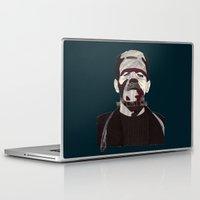 frankenstein Laptop & iPad Skins featuring Frankenstein by Mrs.Bubble