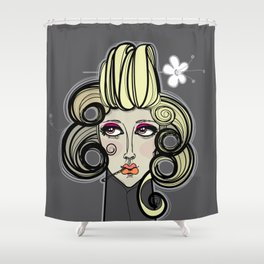Bigoudi 2 Shower Curtain