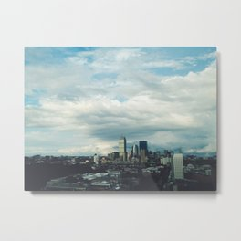 Boston Skyline 1 Metal Print