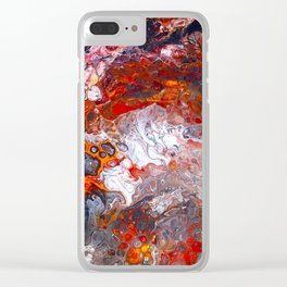 Inferno No. 1 Clear iPhone Case