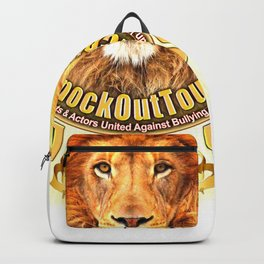 The Knockout Tour Lion Crest Backpack