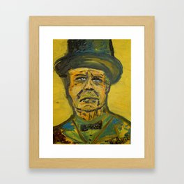 Winston Churchill Framed Art Print