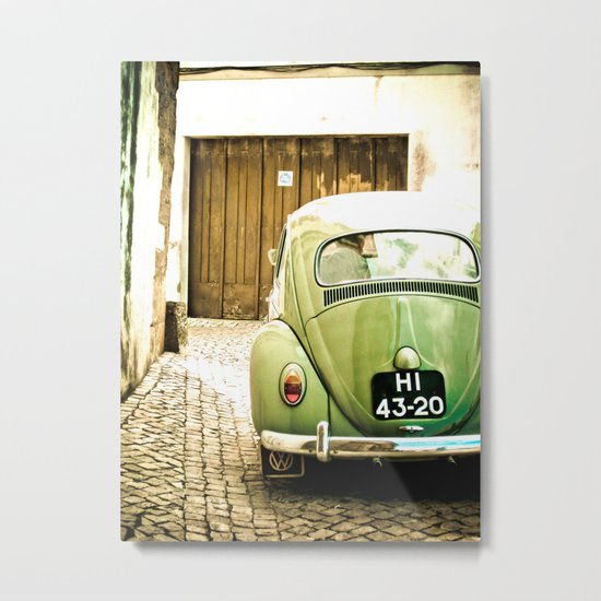Mrs Olive Green Metal Print