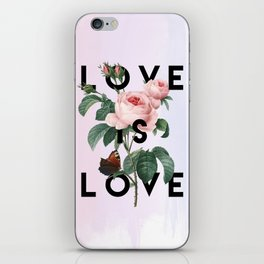 Love is Love iPhone Skin