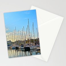 Harbor: Barcelona, Spain Stationery Cards