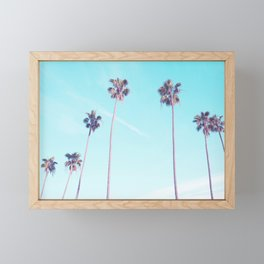 Palms Good Vibes Framed Mini Art Print