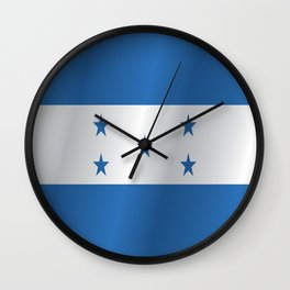 Flag of Honduras Wall Clock