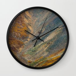 electric scree Wall Clock