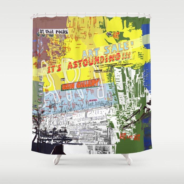 Art That Rocks Shower Curtain By Melasdesign Society6