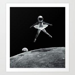 Dance like no one is watching. Art Print