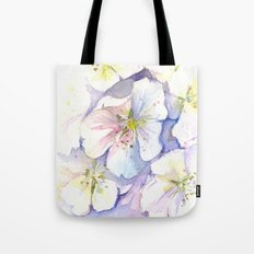 Cherry Blossoms Flowers Spring Floral Tote Bag