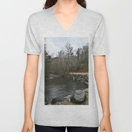 Creek Curve Unisex V-Neck