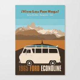 1965 Ford Econoline   Patagonia Canvas Print
