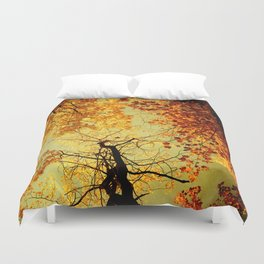 We Are Starlight, We Are Golden Duvet Cover